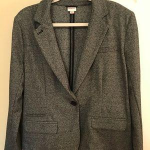 Merona gray blazer large